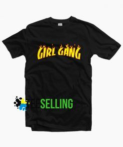 Girl Gang Thrasher T-shirt Unisex Adult Size S-3XL