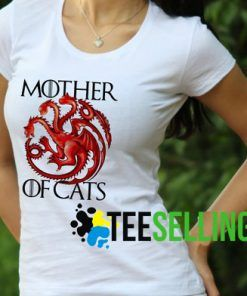 MOTHER OF CAT T-SHIRT UNISEX ADULT