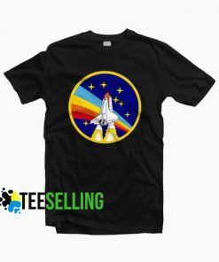 Nasa Rocket T-shirt Unisex Adult Size S-3XL