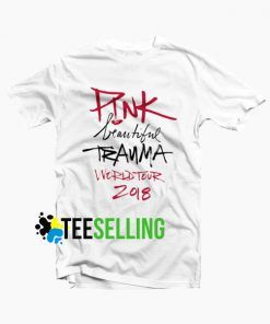Pink Beautiful Trauma World Tour 2018 T-Shirt