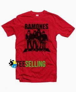 Ramones T-shirt Unisex Adul