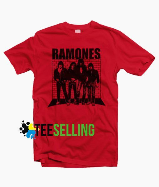 Ramones Band T shirt Unisex Adult
