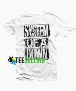 System of Down T-shirt Unisex Adult Size S-3XL
