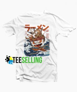 The Great Ramen Off Kanagawa T shirt Adult Unisex