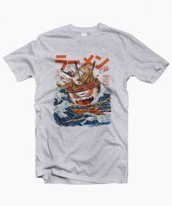 The Great Ramen Off Kanagawa T-Shirt adult unisex