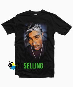 Tupac T-shirt For Men and Women Adult Size S to 3XL
