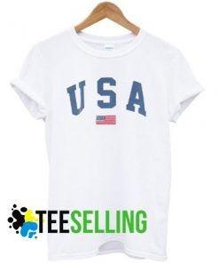 USA Flag T shirt Adult Unisex