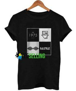 Arctic Monkeys and Bastille Logo T-shirt