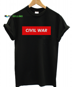 civilwar unisex adult t-shirt