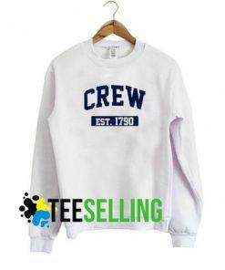 Crew Est 1790 Sweatshirt Unisex Adult