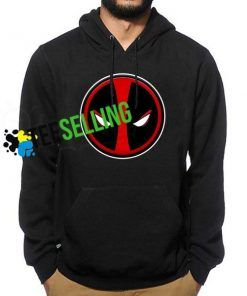 DEADPOOL FACE HOODIES UNISEX ADULT