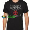 House deadpool Unisex Adult T Shirt