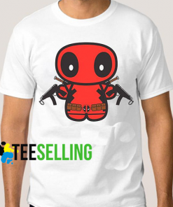 DEADPOOL MAX T-SHIRT ADULT UNISEX