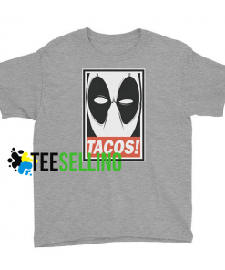 DEADPOOL TACOS T-SHIRT UNISEX ADULT