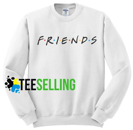 Friends Tv Show Adult Unisex Sweatshirt