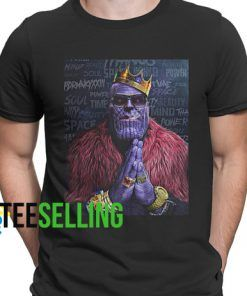 THANOS T-SHIRT UNISEX ADULT