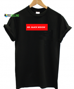 MR. BLACK WIDOW T-SHIRT UNISEX ADULT