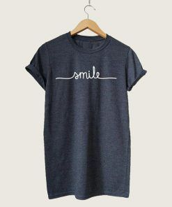 T-SHIRT SMILE UNISEX ADULT