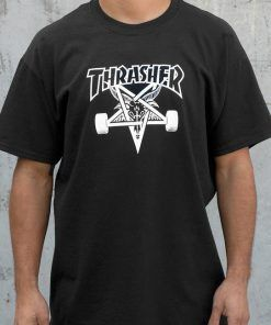 THRASHER T-SHIRT UNISEX ADULT