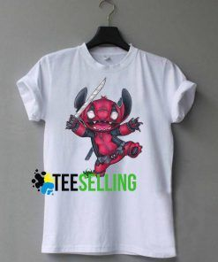 STITCH DEADPOOL T-SHIRT UNISEX ADULT