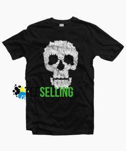 SKULL PUPPIES T-SHIRT UNISEX ADULT