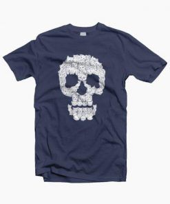 SKULL OF PUPPIES T-SHIRT UNISEX ADULT