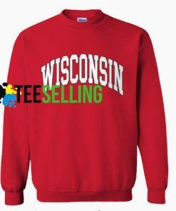 WISCONSIN Sweatshirt Unisex For Men and Women Adult