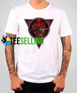 Deadpool Triangle Unisex Adult T-shirt