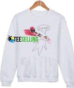 Deadpool Ouchie Unisex Adult Sweatshirt