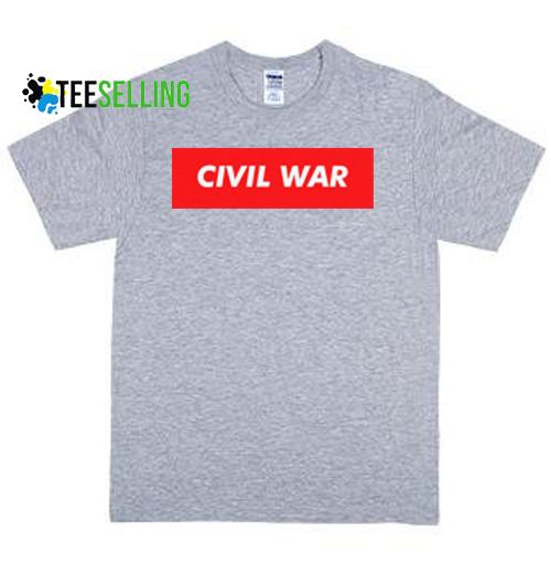 civilwar unisex adult t-shirt