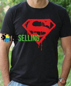 SUPERMAN BLOOD LOGO T-SHIRT UNISEX ADULT