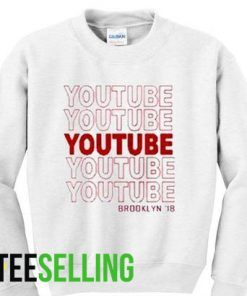 youtube sweatshirt adult unisex