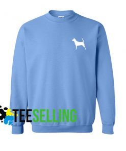 DOG SILLHOUTE Unisex Adult Sweatshirt