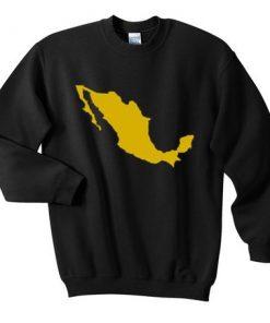MEXICO MAP Sweatshirt