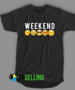 WEEKEND EMOJI Unisex Adult T Shirt