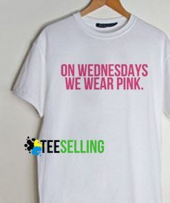 on wednesdays we wear pink Unisex Adult T Shirt