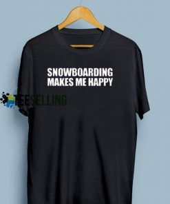 Snowboarding T shirt Adult Unisex For men and women Size S-3XL