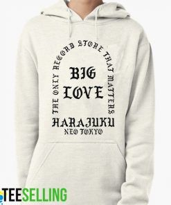 Big Love Harajuku unisex adult Hoodies