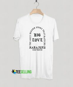 Big Love Harajuku T shirt Adult Unisex