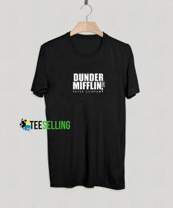 Dunder Mifflin Paper Company T shirt Adult Unisex