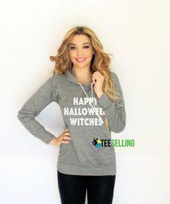 Happy Halloween Witches unisex adult Hoodies