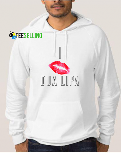 I Kiss Dua Lipa Hoodies