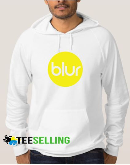 Blur England Flag Band Hoodies