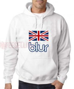 Blur England Flag Hoodies