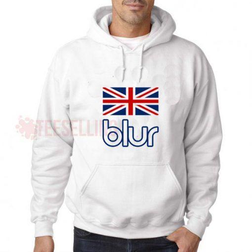 Blur England Flag Band Hoodies