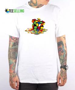 Sheldon Cooper - Melting Rubik's Cube T Shirt