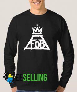 Fall Out Boy Logo Band Sweatshirt
