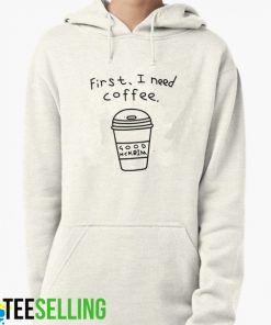 First, I need Coffee unisex adult Hoodie