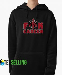 Fuck Cancer Deadpool Hoodies