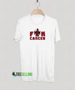 Fuck Cancer Deadpool T Shirt Adult Unisex